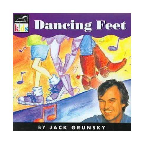 Jack Grunsky - Dancing Feet (CD) - image 1 of 1