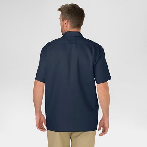 Dickies Men/'s   Short Sleeve Work Shirt Tall