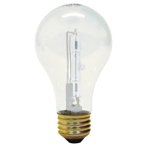 Ge 75 Watt Energy Efficient Halogen Light Bulb 2 Pack Soft White Clear Target