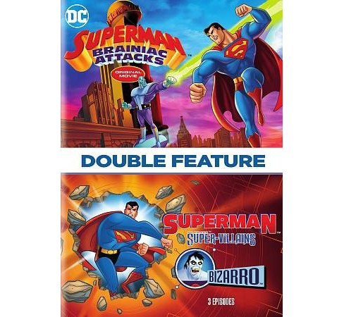 Superman:Brainiac Attacks/Super Villa (DVD) - image 1 of 1