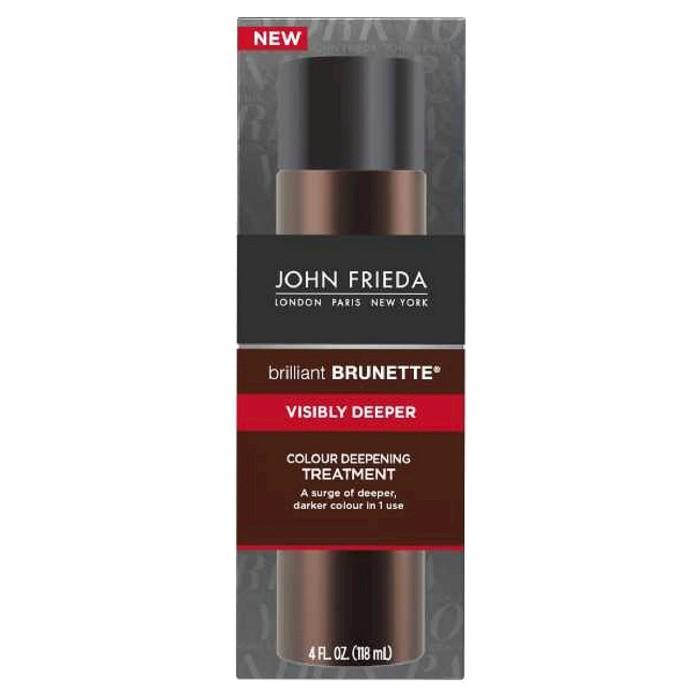 John Frieda Brilliant Brunette Visibly Deeper Colour Deepening Treatment - 4 fl oz - image 1 of 1