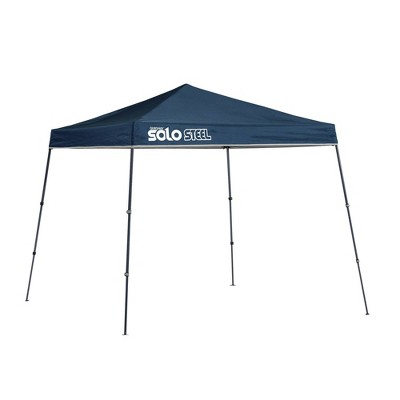 Quik Shade Solo Steel 9x9 Slant Leg Canopy - Blue