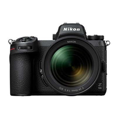 Nikon Z 6II FX-format Mirrorless Camera Body with NIKKOR Z 24-70mm f/4 S Lens