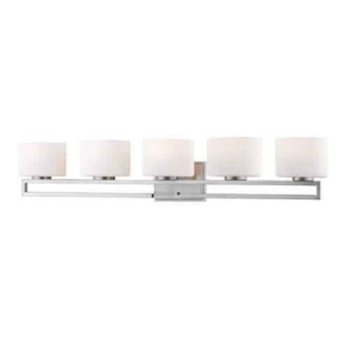 "Z-Lite 335-5V-LED Privet 5 Light 41-3/8"" Wide Integrated LED Bathroom Vanity Light - image 1 of 1"