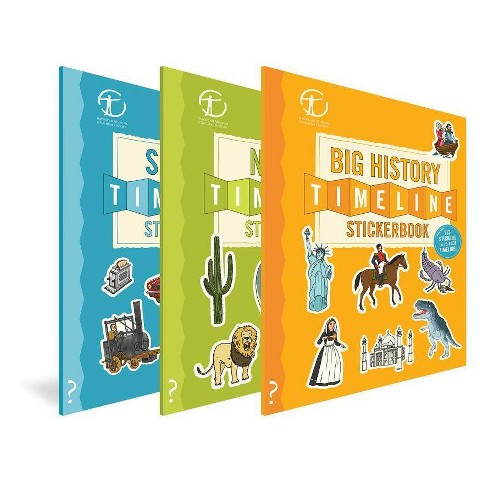 The Stickerbook Timeline Collection - (Paperback) - image 1 of 1
