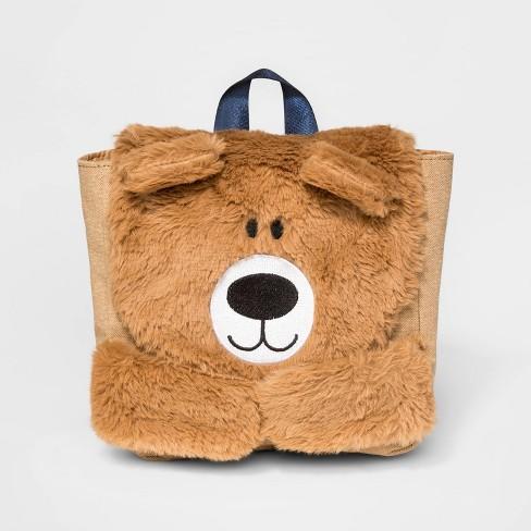 Toddler Boys' Bear Backpack - Cat & Jack™ Brown - image 1 of 3