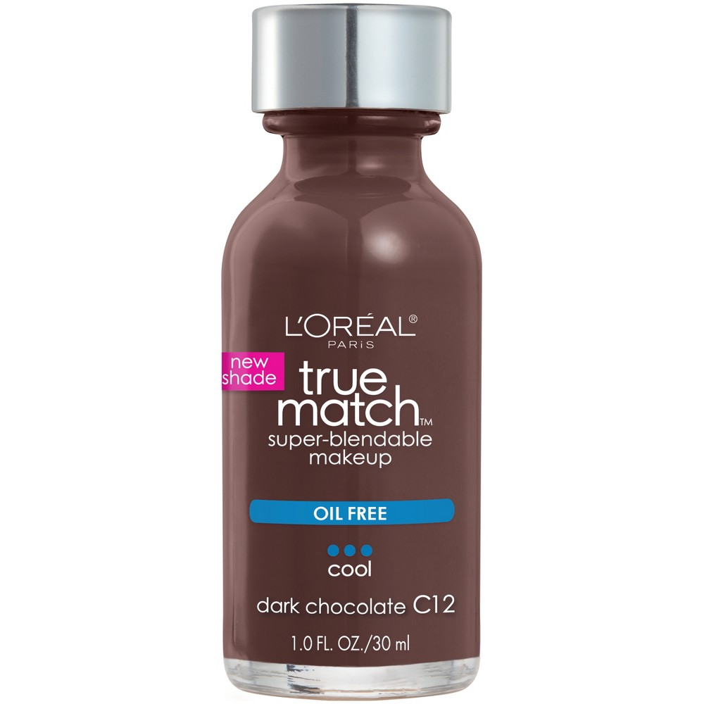 L'Oreal Paris True Match Super-Blendable Makeup Titanium Dioxide Sunscreen Bone C.15 - 1 fl oz, Multi-Colored