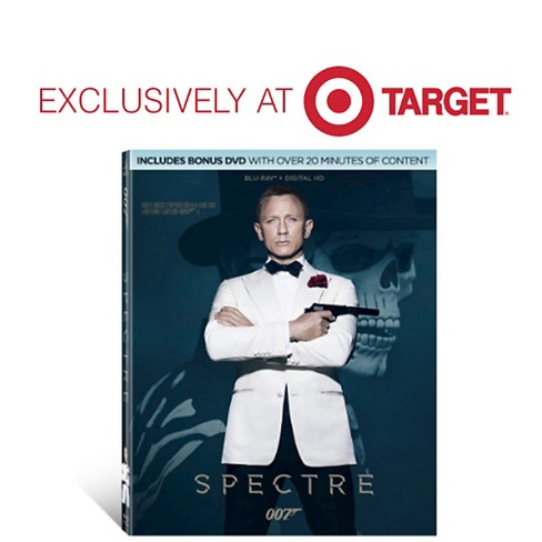 James Bond - Spectre (Blu-ray + Digital HD) - Target Exclusive - image 1 of 1
