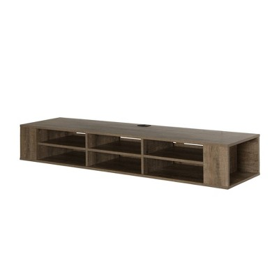 """66"""" City Life Wide Wall Mounted Console - South Shore"""