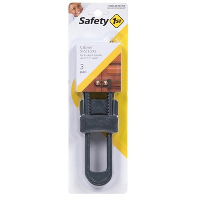 Safety 1st® Cabinet Slide Lock - Gray (3 pack)