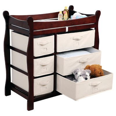 Merveilleux Badger Basket Baby Changing Table   Cherry : Target