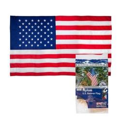 2.5'x4' Nylon Banner Flag