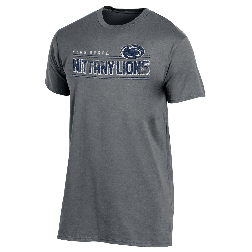Penn State Nittany Lions Men's Keep the Lights On Bi-Blend Gray Heathered T-Shirt M, Multicolored