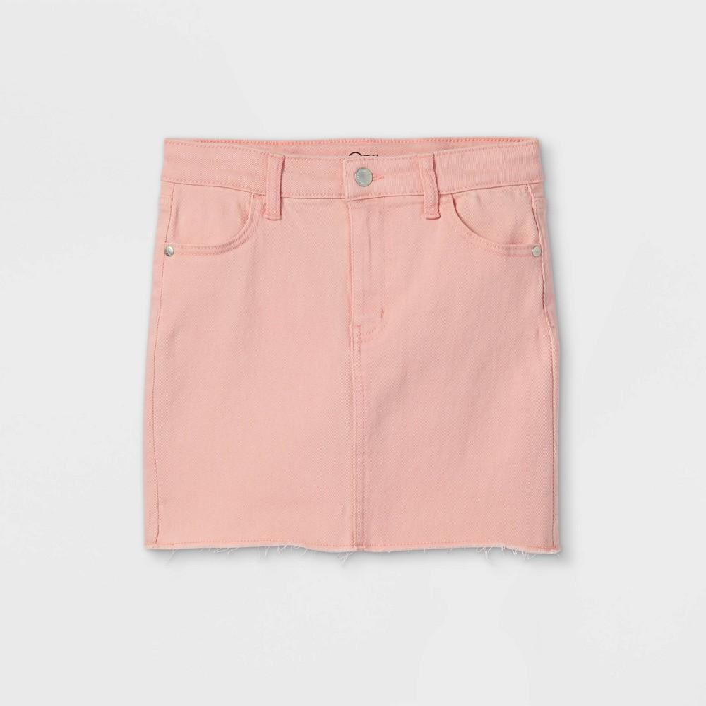 Girls 39 Denim Skirt Art Class 8482 Pink M