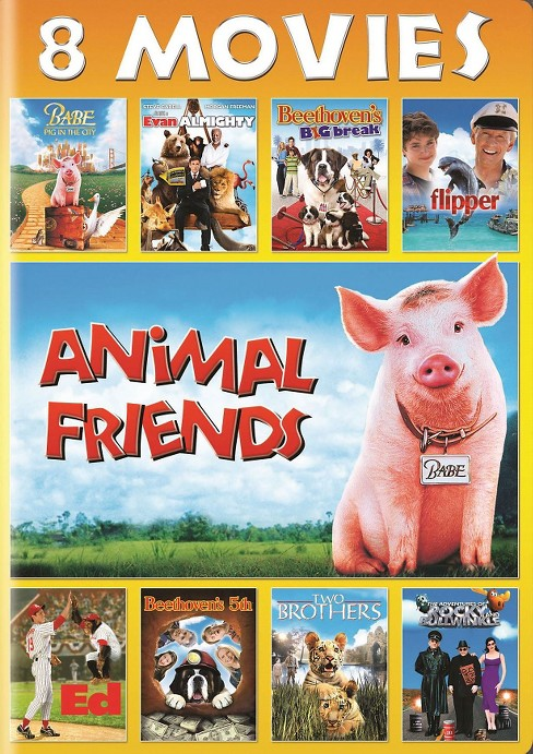 Animal Friends 8 Movie Collection (DVD) - image 1 of 1