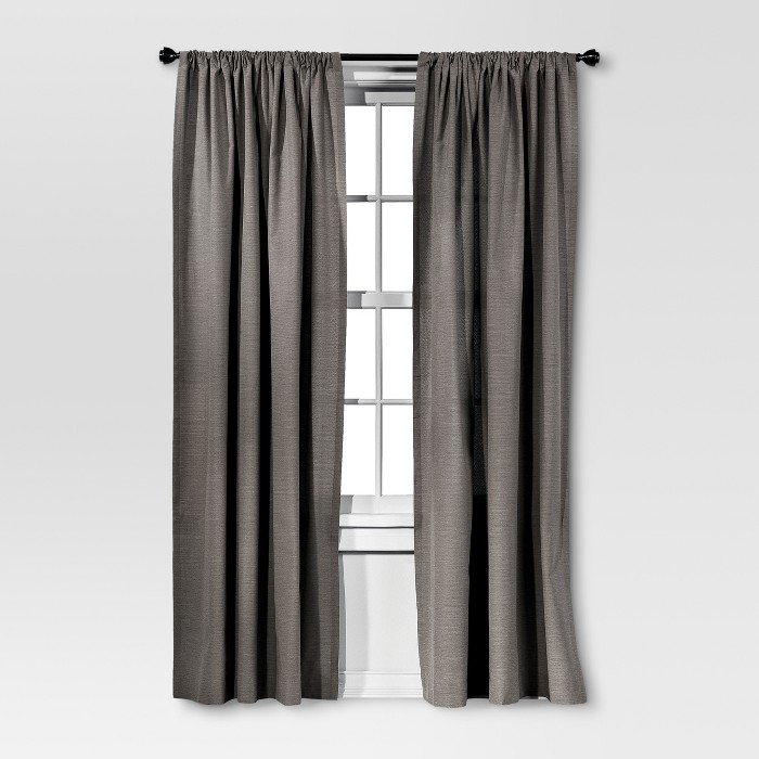Farrah Curtain Panel - Threshold™ - image 1 of 3