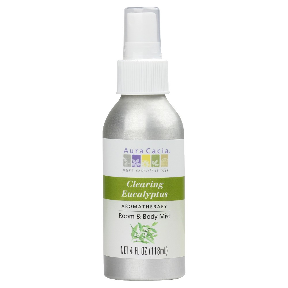Image of Aura Cacia Clearing Eucalyptus Aromatherapy Room & Women's Body Mist - 4oz
