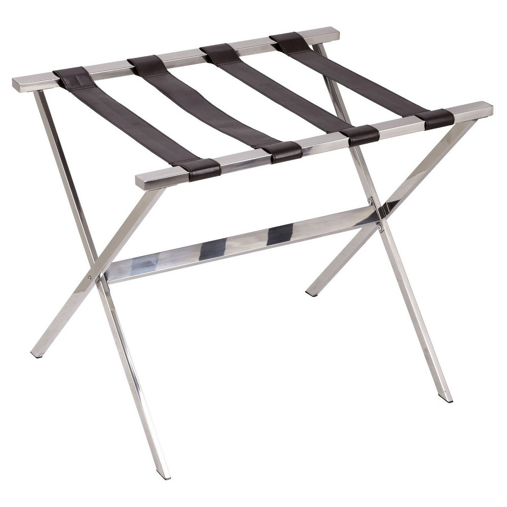Household Essentials Luggage Rack - Stainless Steel (Silver)