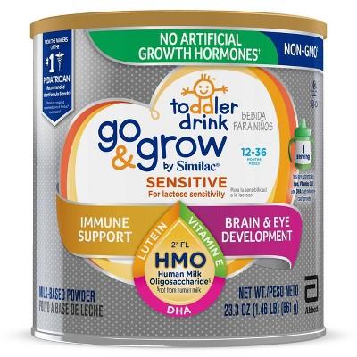 Go & Grow Sensitive by Similac Toddler Drink Non-GMO Formula Powder - 23.3oz