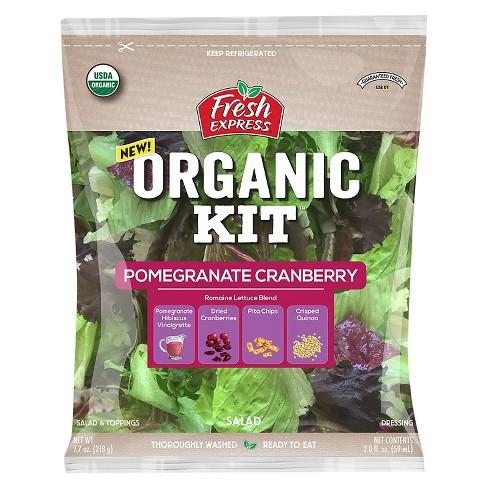 Fresh Express Organic Pomegranate Cranberry Kit - 9.8oz - image 1 of 1