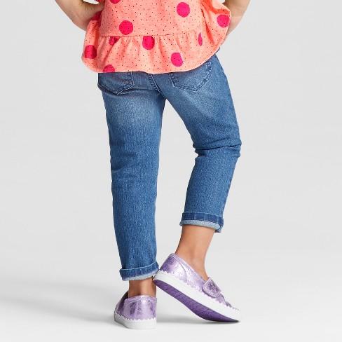 fae535f9dad04 Toddler Girls' Skinny Jeans - Cat & Jack™ Medium Blue : Target