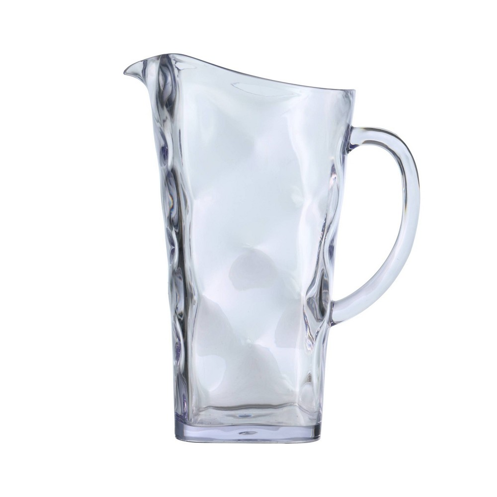 Image of Felli Baroque 2L Acrylic Pitcher, Clear
