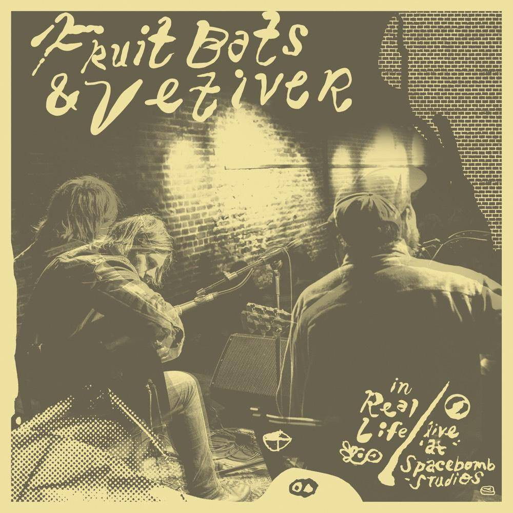 Fruit Bats Vetiver In Real Life Live At Spacebomb Studios Colored Vinyl