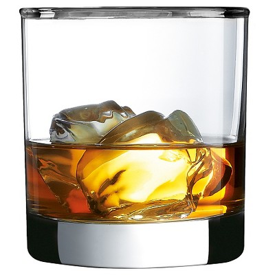 Luminarc® Platinum Rimmed Double Old Fashioned Glass Set of 4