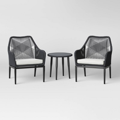 Martin Small Space 3pc Patio Chat Set - Project 62™