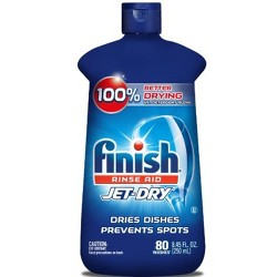 Finish Jet-Dry Rinse Aid, Dishwasher Rinse & Drying Agent