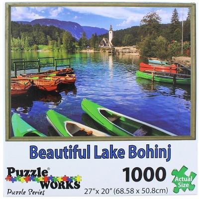 PuzzleWorks 1000 Piece Jigsaw Puzzle | Lake Bohinj