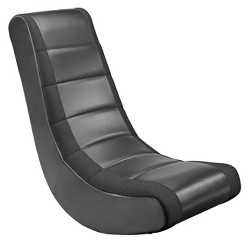 Video Rocker Gaming Chair Black - The Crew Furniture