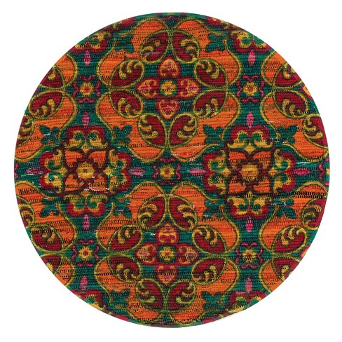 Loloi Aria Accent Rug - Green (3' Round) - image 1 of 1