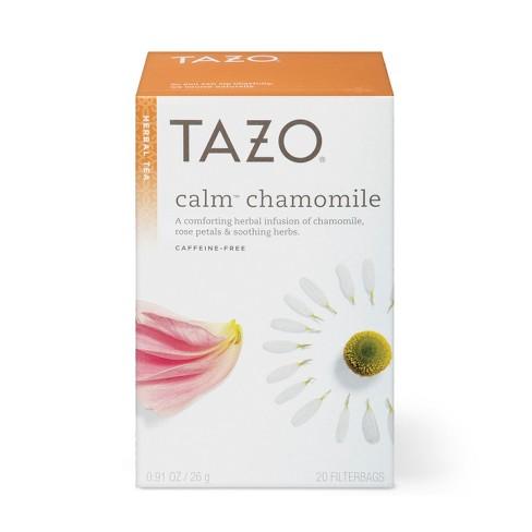 Tazo Calm Chamomile Herbal Tea - 20ct - image 1 of 4
