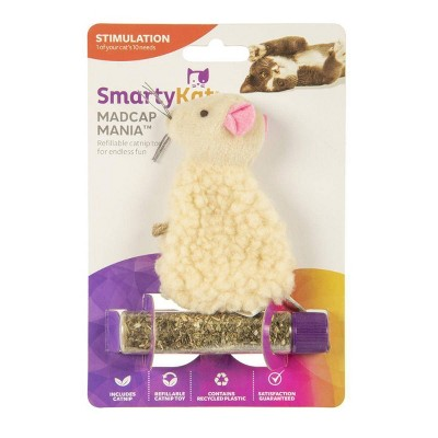 SmartyKat Madcap Mania Catnip Refillable Cat Toy