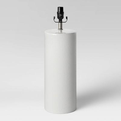 Large Ceramic LED Lamp Base White (Includes Energy Efficient Light Bulb)- Threshold™