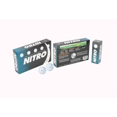 Nitro Golf Ultimate Distance Golf Balls White - 30pc