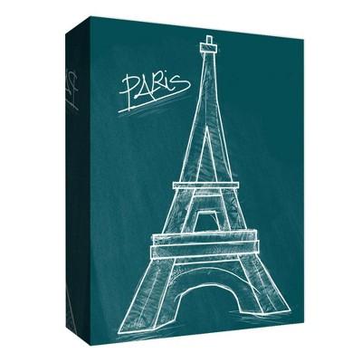 "14"" x 11"" Chalk Eiffel Decorative Wall Art - PTM Images"