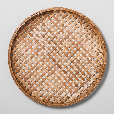 Flat Rattan Wall Art - Large - Hearth & Hand™ with Magnolia