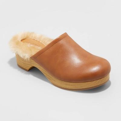 Women's Poppy Heels - Universal Thread™ Cognac