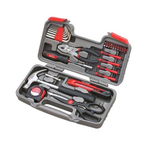apollo 39 pc household tool kit target