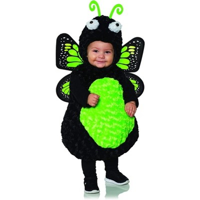 Underwraps Costumes Green Butterfly Belly Babies Toddler Costume