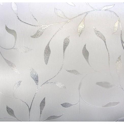 "24"" x 36"" Etched Leaf Window Film - Artscape - image 1 of 4"