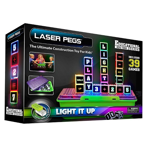 Laser Pegs Education Series Lighted Construction Toy - image 1 of 4