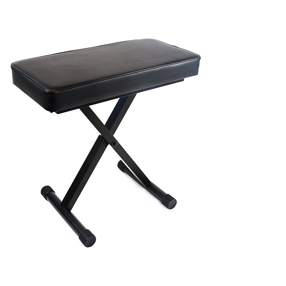Reprize Accessories Dkb-1 Keyboard Bench with 2 Pad, Black