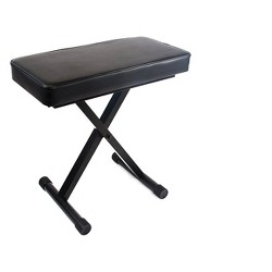 """Reprize Accessories DKB-1 Keyboard Bench with 2"""" Pad"""