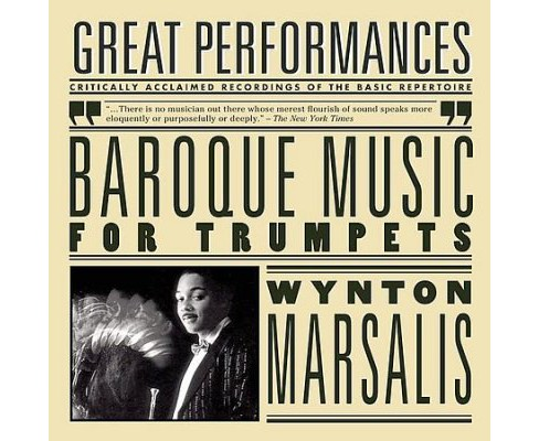 Wynton marsalis - Baroque music for trumpets (CD) - image 1 of 1