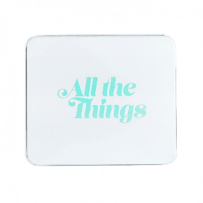 Amici Home All The Things Metal Storage Box, 50oz