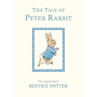 The Tale of Peter Rabbit - by Beatrix Potter (Board_book)