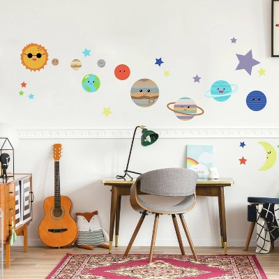 Planet Peel and Stick Wall Decal - RoomMates